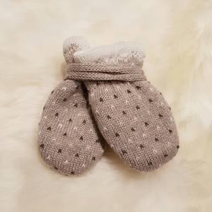 Bilde av Maximo Babyvotter i ullmix, beige