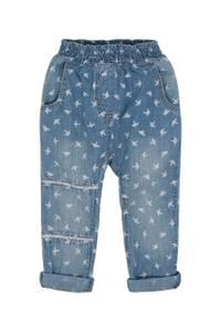 Bilde av Hust & Claire, Jeans med svaleprint