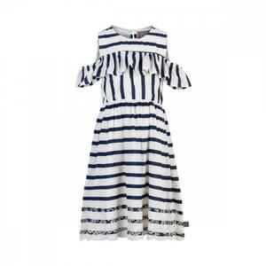 Bilde av Creamie Dress Stripes Marine/Hvit