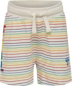 Bilde av Hummel Rainbow Shorts, Whisper White