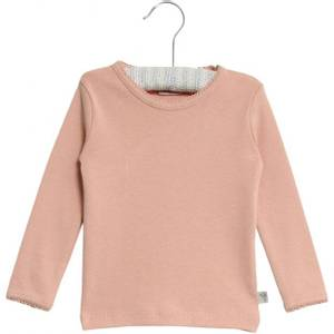 Bilde av Wheat Genser Basic T-shirt LS, Powder Rose, Rosa