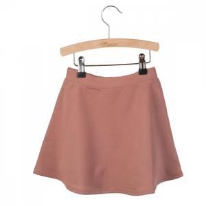 Bilde av Little Hedonist Pleated Skirt Mesa Burlwood