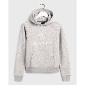 Bilde av GANT LOCK UP HOODIE LIGHT GREY
