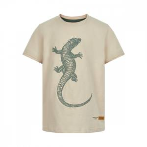 Bilde av Minymo T-shirt Krokodille Fog