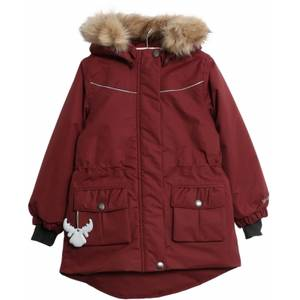 Bilde av Wheat Jacket Mathilde Burgundy, Ensfarget