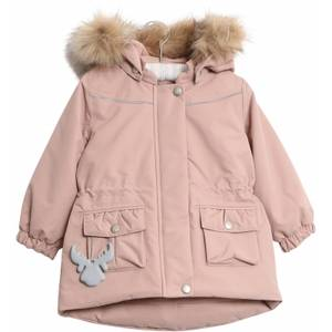 Bilde av Wheat Baby Jacket Mathilde Rose Powder, Ensfarget