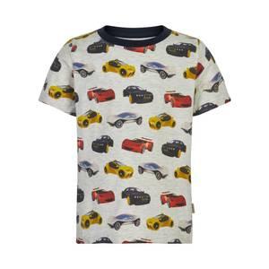 Bilde av Minymo T-shirt All Over Print Biler, Beige