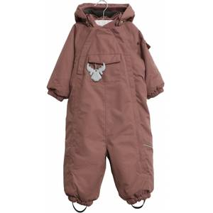 Bilde av Wheat Snowsuit Adi AW20, Plum, vinterdress baby