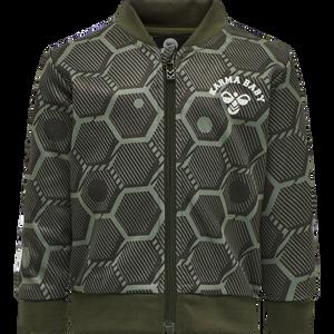 Bilde av Hummel Jemaine Zip Jacket, Deep Lichen Green AW20