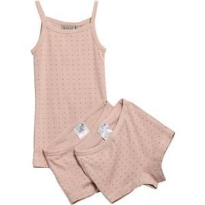 Bilde av Wheat Girls Underwear, Rosa, rosa singlet og to