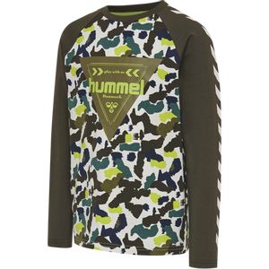 Bilde av Hummel Hokkaido T-shirt LS, Lime Punch, AW20