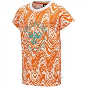Bilde av Hummel Olivia T-shirt SS, Carrot AW20