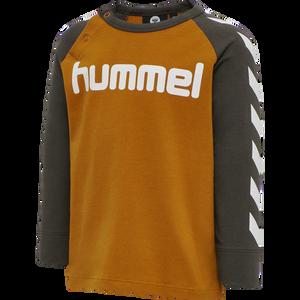 Bilde av Hummel Ryan T-shirt LS, Black Olive