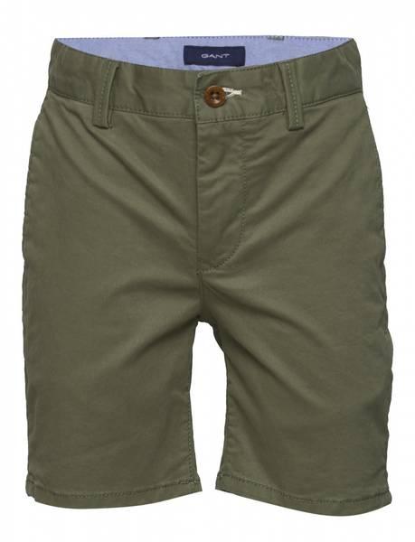 Gant Chino Shorts, Four Leaf, grønn