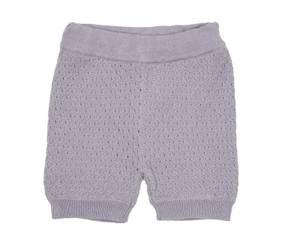 Bilde av MeMini Lane Baby Knit Shorts FW19, Lavender Grey