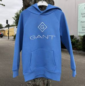 Bilde av GANT LOCK UP HOODIE PACIFIC BLUE