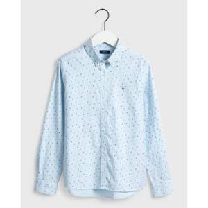 Bilde av Gant Letters Striped Shirt, Stripete Skjorte med