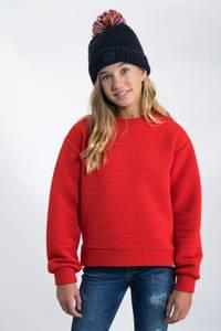 Bilde av Garcia Girls Sweater Rib, Goji Berry