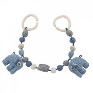 Bilde av Sebra Vognlenke Elefanten Fanto, Powder Blue
