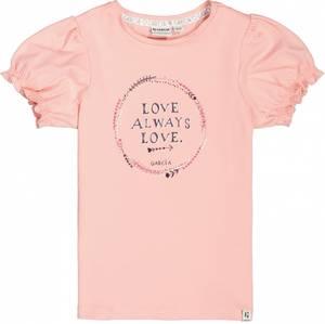 Bilde av Garcia Girls T-Shirt Puff, Sweet Pink