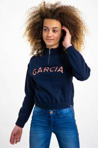 Bilde av Garcia Girls Sweat med print, Dark Moon