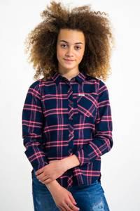 Bilde av Garcia Girls Shirt, rutet flanellskjorte, Dark