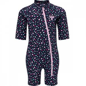 Bilde av Hummel UV-drakt/Beach Swimsuit, med prikker, Rosa