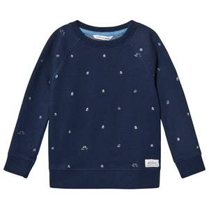 Bilde av Ebbe Radford Sweatshirt, Boats on Blue