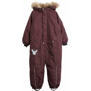 Bilde av Wheat Snowsuit Moe Tech, Soft Eggplant,