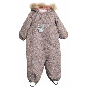 Bilde av Wheat Snowsuit Nickie AW20, Blue Mirage Flowers,