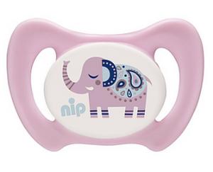 Bilde av NIP Smokk Miss Denti, Elefant rosa