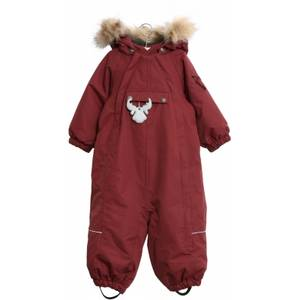 Bilde av Wheat Snowsuit Nickie AW20, Burgundy, vinterdress