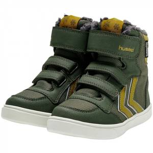 Bilde av Hummel Stadil Super Poly Boot Mid JR, Olive Night