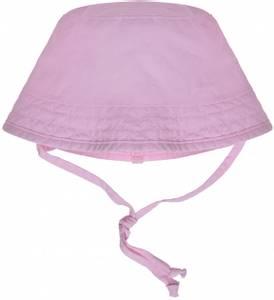 Bilde av Maximo solhatt med knyting og strikk, rosa