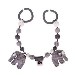 Bilde av Sebra Vognlenke Elefanten Fanto, Classic Grey