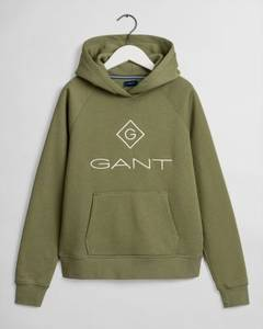 Bilde av GANT LOCK UP HOODIE FOUR LEAF GREEN