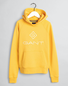 Bilde av GANT LOCK UP HOODIE MIMOSA YELLOW