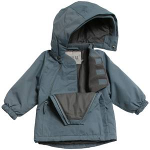 Bilde av Wheat Baby Jacket Sascha Blue Mirage, Ensfarget