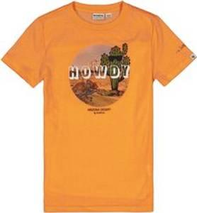 Bilde av Garcia Kids Boys T-Shirt Print SS, Neon Carrot