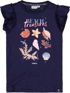 Bilde av Garcia Kids Girls T-shirt Beach Treasures,