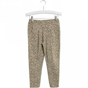 Bilde av Wheat Soft Pants Abbie Green Flowers