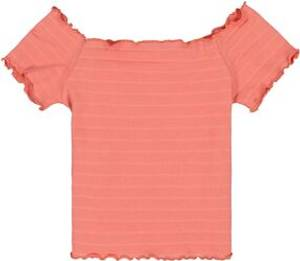 Bilde av Garcia Girls T-Shirt Off-Shoulder, Wash Orange