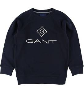 Bilde av GANT LOCK UP C-NECK SWEAT EVENING BLUE