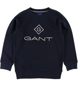 Bilde av GANT LOCK UP C-NECK SWEAT EVENING BLUE