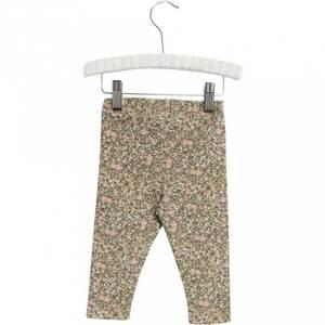 Bilde av Wheat Leggings til baby, Green Flowers