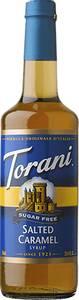 Bilde av Torani Salted Caramel Sukkerfri
