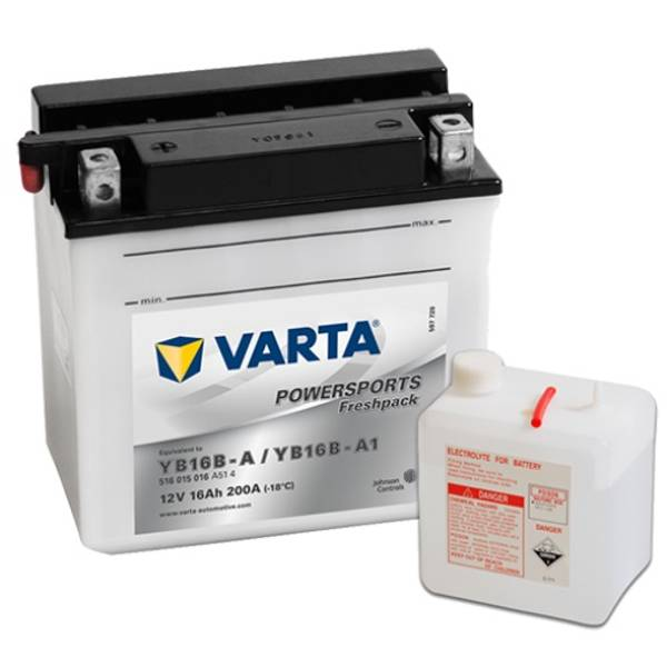 Bilde av  VARTA YB16B-A MC Batteri 12V 16AH 200CCA (160x90x161mm) +venstr