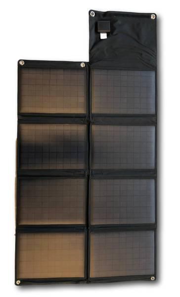 Bilde av SKANBATT Sammenleggbart solcellepanel 80W