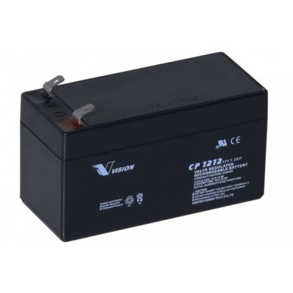 Bilde av Vision AGM Batteri 12V 1,2AH (97x43x58mm)