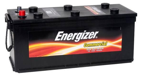 Bilde av EC24 ENERGIZER Commercial Batteri 12V 120AH 760CCA (510x175x210/